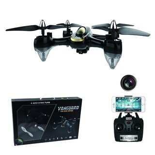 Black Endeavor Drone w/0.3MP WIFI FPV Cam 1 Key Return