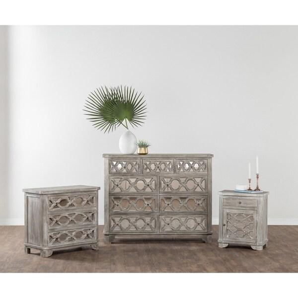 Leanne Solid Wood 3-drawer Dresser by Kosas Home