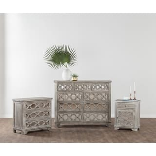 Leanne Rustic White Solid Wood 3 Drawer Dresser by Kosas Home|https://ak1.ostkcdn.com/images/products/17487156/P23715919.jpg?impolicy=medium