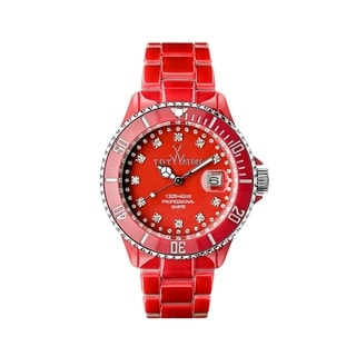 ToyWatch Toy MrHyde Red and Leopard HY05RD