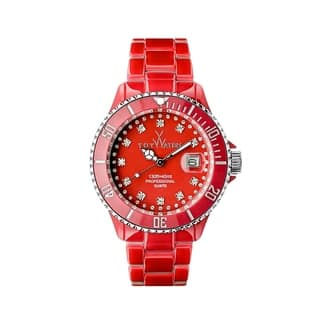 ToyWatch Toy MrHyde Red and Leopard HY05RD https://ak1.ostkcdn.com/images/products/17487213/P23716054.jpg?impolicy=medium