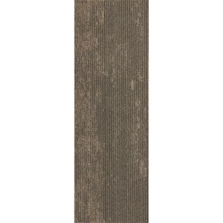 "Mohawk Webster 12"" x 36"" Carpet tile plank in DOWNING STONE METALLIC"