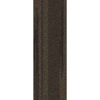 "Mohawk Milford 12"" x 36"" Carpet tile plank in ENTWINE"