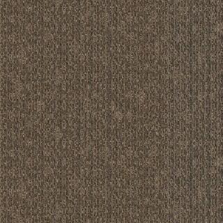 "Mohawk Bedform 12"" x 36"" Carpet tile plank in SPIN"