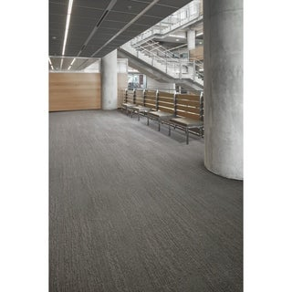 "Mohawk Brunswick 12"" x 36"" Carpet tile plank in SOLID GROUND (2 options available)"