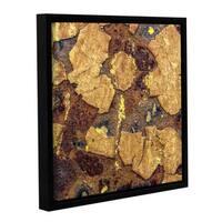 Scott Medwetz 'Tussock' Gallery-wrapped Floater-framed Canvas Art