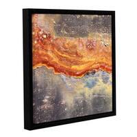 ArtWall Scott Medwetz 'Tamarillo' Gallery-wrapped Floater-framed Canvas