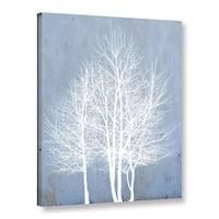 Scott Medwetz's Blue Cadet Trees, Gallery Wrapped Canvas