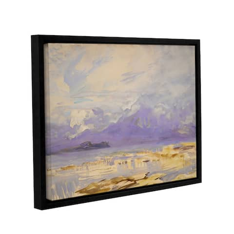 ArtWall John Singer Sargent's 'Sirmione' Gallery-wrapped Floater-framed Canvas