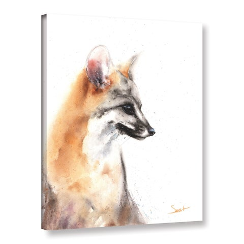 Eric Sweet's 'Grey Fox' Gallery Wrapped Canvas