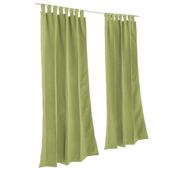 Pawleys Island Sunbrella Curtain -  Spectrum Cilantro