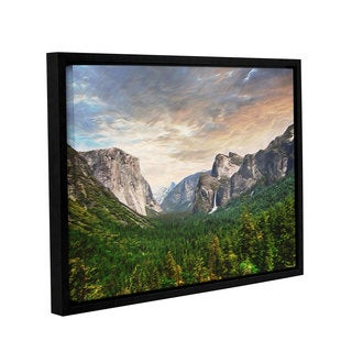 ArtWall Scott Medwetz's 'Yosemite' Gallery-wrapped Floater-framed Canvas