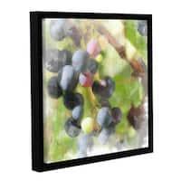 ArtWall Scott Medwetz 'Wine Prequel' Canvas Gallery-wrapped Floater-framed Wall Art