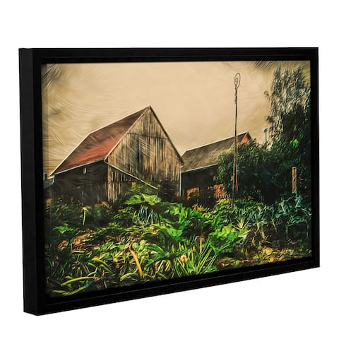 ArtWall Scott Medwetz 'Cabbage Patch Farm' Canvas Gallery-wrapped Floater-framed Wall Art