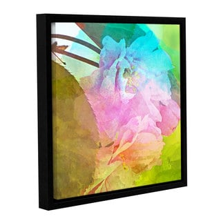Scott Medwetz 'Spring Stained' Gallery-wrapped Floater-framed Canvas