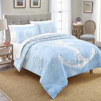 Destinations Southport Cotton 3-piece Comforter Set