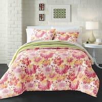 Loft Style Georgia Garden Cotton 3-piece Comforter Set