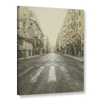 Scott Medwetz's 'Crosswalk' Gallery Wrapped Canvas