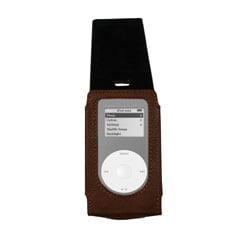 Amerileather Leather iPod 4th Generation/Cell Phone Case with Flap - Thumbnail 1