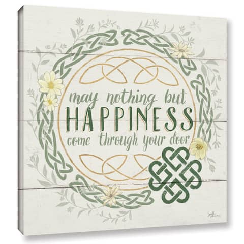 Janelle Penner 'Irish Blessing I' Gallery-wrapped Canvas