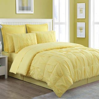 Yellow Comforter Sets For Less Overstock Com