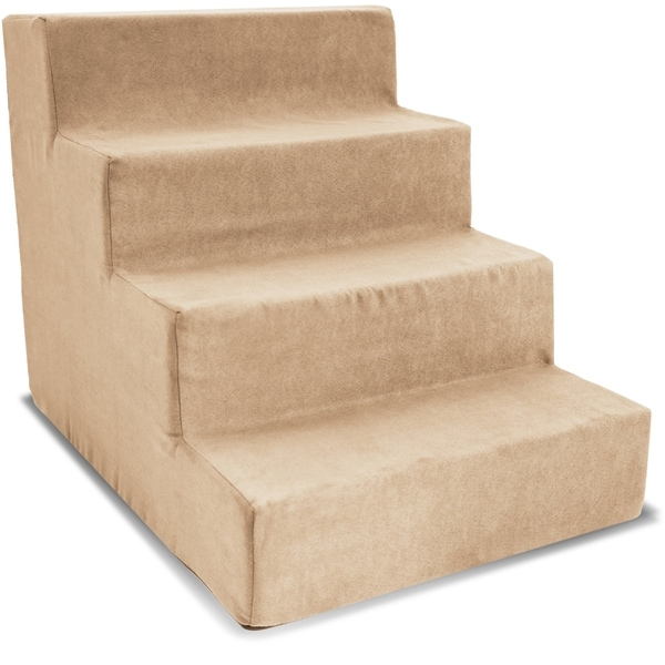 4 Step Portable Pet Stairs By Home Base