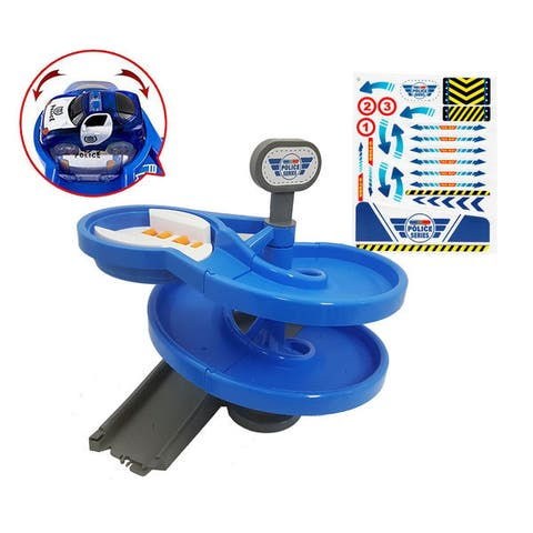Magic Twister Light Up Glow Tracks Spiral Turnabout Accessory