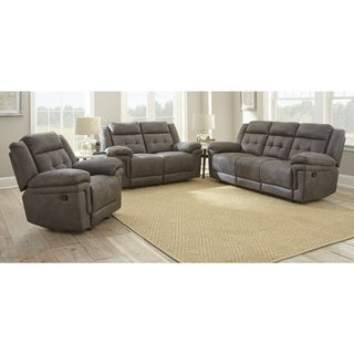 Greyson Living Austin Microfiber 3-piece Reclining Seating Set