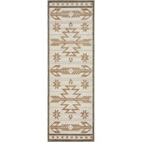 Unique Loom Albuquerque Indoor/ Outdoor Runner Rug