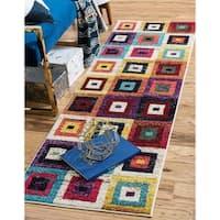 Unique Loom Demi Estrella Runner Rug - 2' 2 x 6' 7