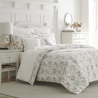 Laura Ashley Rosalie Flannel Duvet Cover Set