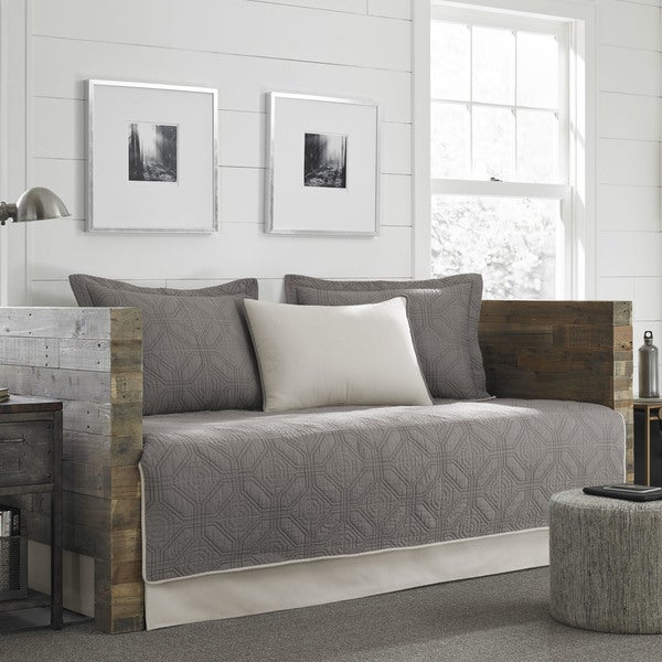 Eddie Bauer Axis Grey 5 Piece Daybed Cover Set