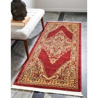 Unique Loom Arsaces Sahand Runner Rug - 2' 7 x 6' 7