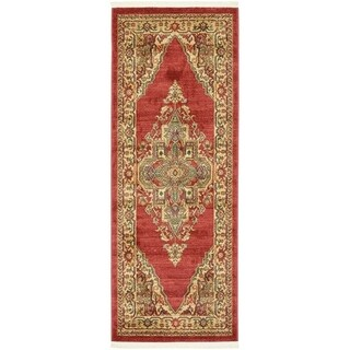 Unique Loom Arsaces Sahand Area Rug (Dark Blue - 27 x 67 Runner)