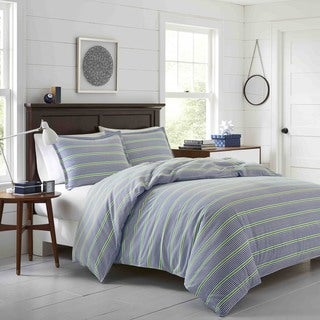 Poppy & Fritz Pierson Flannel 3-piece Duvet Cover Set