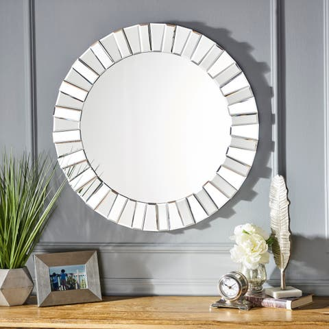 Harlow Star Wall Mirror by Christopher Knight Home - Clear - N/A