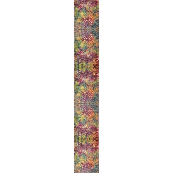 Unique Loom Ivy Barcelona Runner Rug - 2' 7 x 19' 8