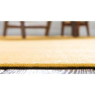 Unique Loom Solid Williamsburg Runner Rug - 2' 9 x 9' 10