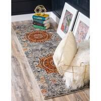Unique Loom Klimt Vita Runner Rug - 2' x 6' 7