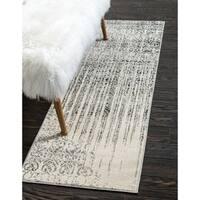 Unique Loom Jennifer Del Mar Runner Rug - 2' x 6'