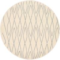 Unique Loom Geometric Morocco Round Rug - 3' 3 x 3' 3