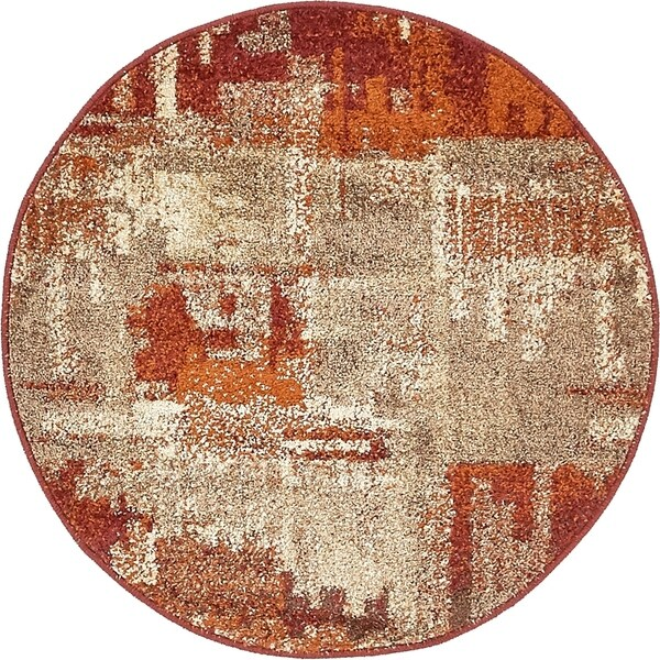Unique Loom Autumn Cinnamon Area Rug