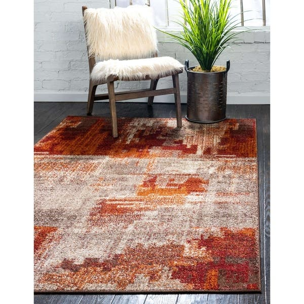 Unique Loom Autumn Cinnamon Area Rug On Sale Overstock 17492022