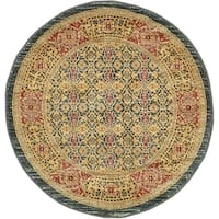 Unique Loom Jefferson Palace Round Rug