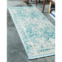Unique Loom Athens New Classical Runner Rug - 2' 7 x 10'