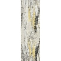 Unique Loom New York Transitional Runner Rug - 2' x 6'