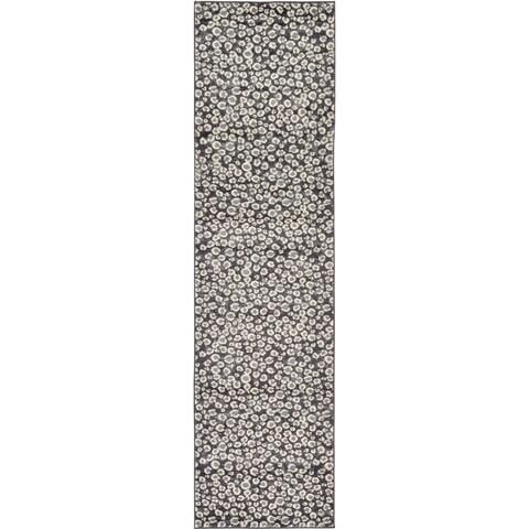 Unique Loom Leopard Wildlife Runner Rug