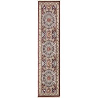 Unique Loom Adams Nain Design Runner Rug - 3' x 13' (More options available)