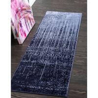 Unique Loom Jennifer Del Mar Runner Rug - 2' 7 x 10'