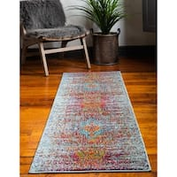 Unique Loom Picasso Vita Runner Rug - 2' x 6' 7